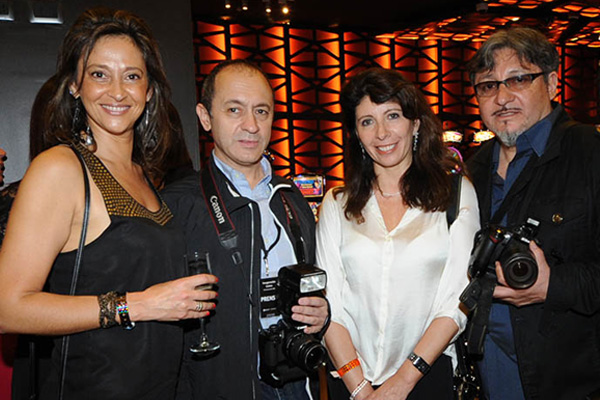 Andrea Menache, Charly Rodriguez, Marisol Nicoletti, Jorge Amado
