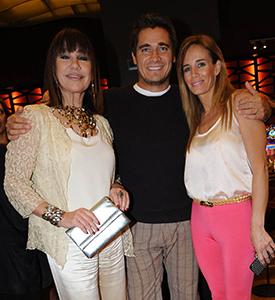 Mora Furtado, Guillermo Andino y señora