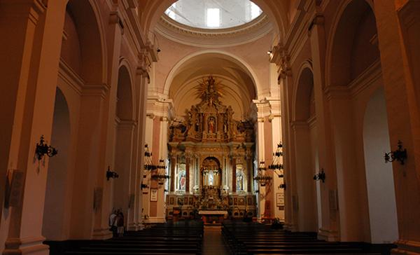 Interior de la Catedral de Maldonado