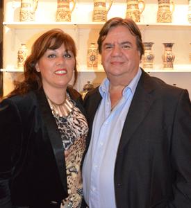 Gabriela Rieiro Candia y Martín Guerra Vergara