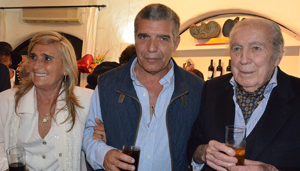 Beba Páez, Carlitos Páez y Carlos Páez Vilaró