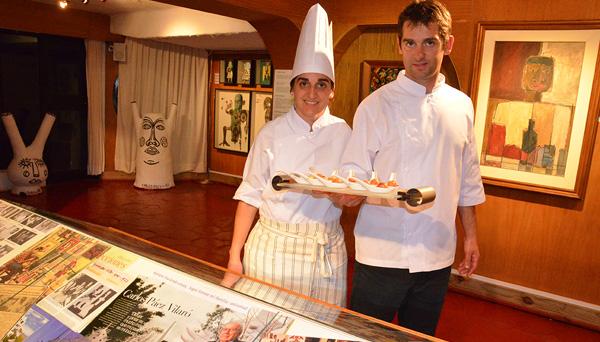 Alejandra y Diego Marfetán, responsable del excelente servicio brindado en el festejo