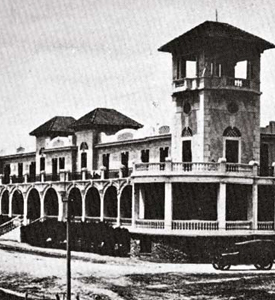 En 1912 fue la gran inauguración del Hotel Biarritz. Gorlero y Williman fueron los invitados de honor.