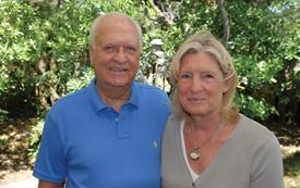 Helga y Juan Valenza, directores y emprendedores de Inmobiliaria Valenza