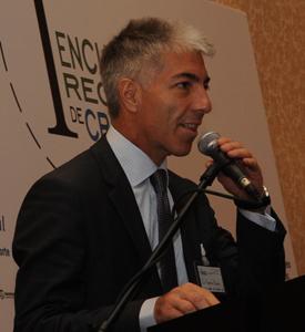 Roberto Fusaro, director ejecutivo de MSC Cruceros, en su disertación