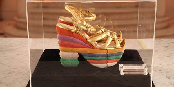 Salvatore Ferragamo- zapato Rainbow