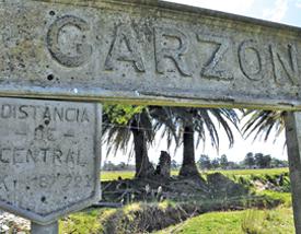 La paz de la campiña, la naturaleza e historia del lugar forman parte del encanto de Garzón