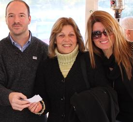 Cizek Villafán una de las ganadoras junto a Yesica Díaz Rijo y Pablo Sánchez