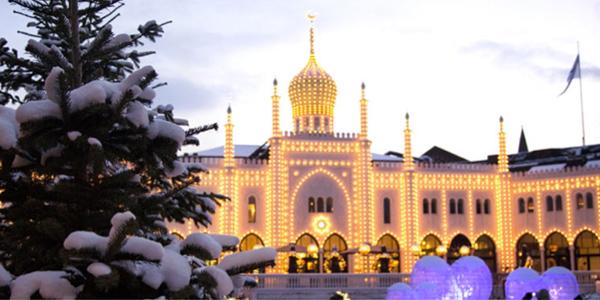 Oportunidad única de visitar Copenhague, en una maravillosa época, y disfrutar la llegada de año nuevo entre la  nieve