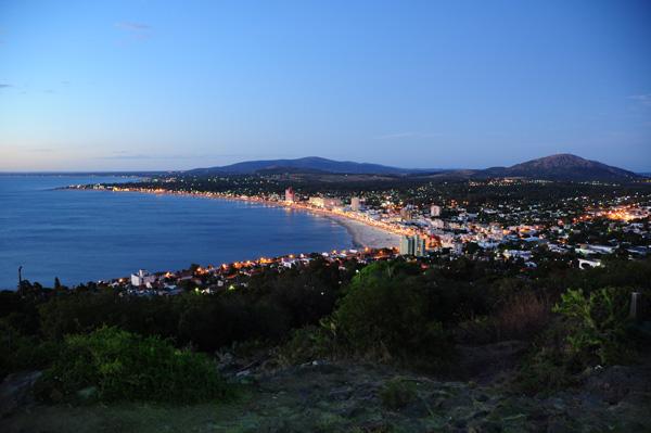 Bahía de Piriápolis, vista desde el Cerro San Antonio