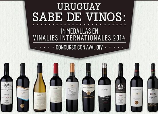 Uruguay sabe de vinos.