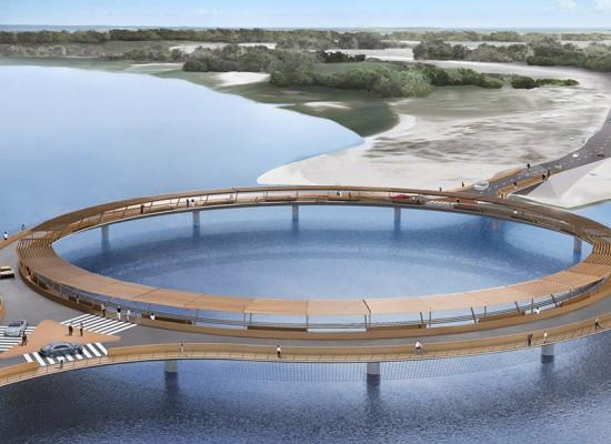 En días iniciarán obra en puente de laguna Garzón