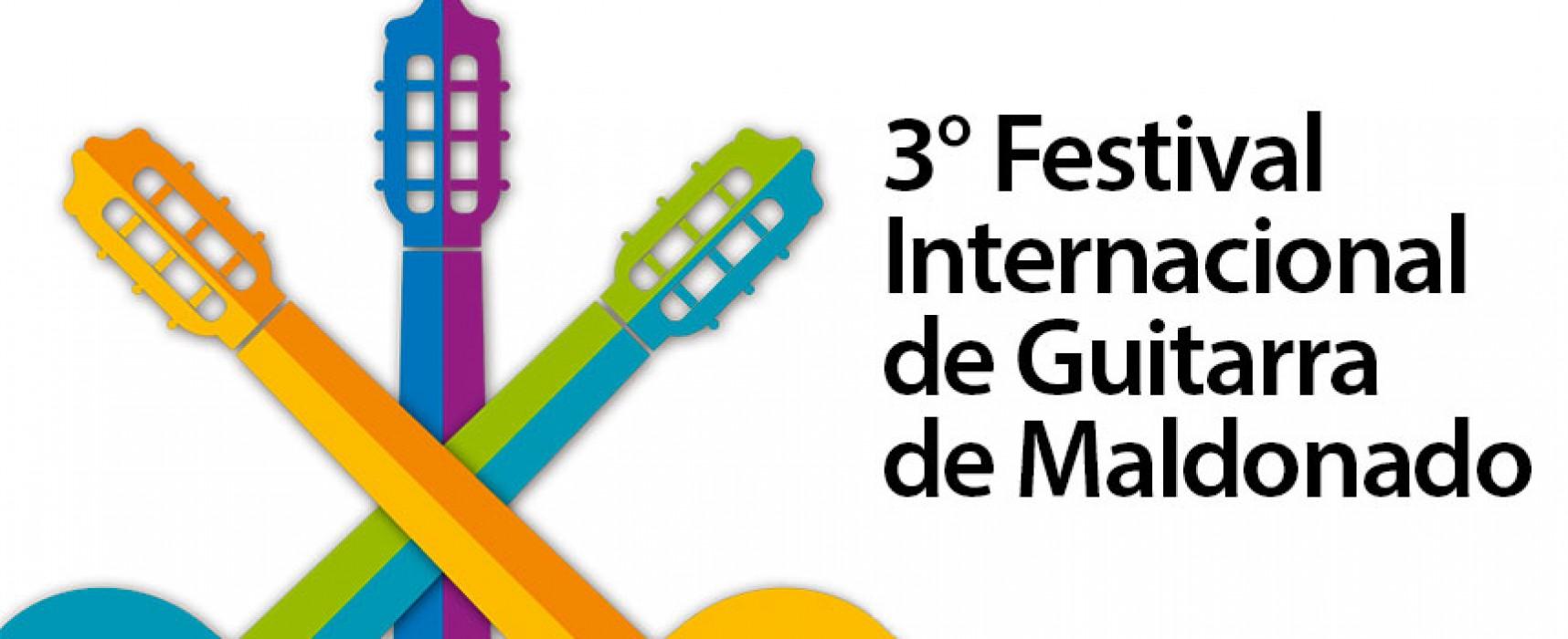 3° Festival Internacional de Guitarra de Maldonado