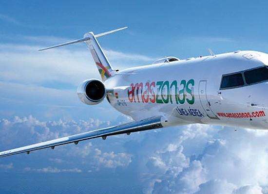 Comienza a volar a Uruguay la aerolínea Boliviana Amaszonas