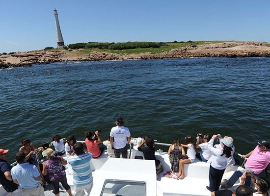 El catamarán Oceanía estará durante todo el año realizando paseos por toda la costa del departamento.