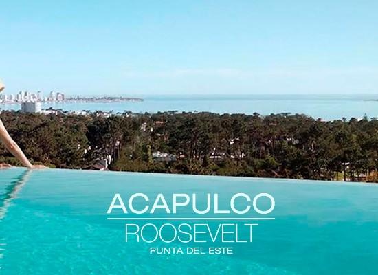 Acapulco Roosevelt: Apartamentos pensados para disfrutar todo el año. Premian a las inmobiliarias con mayor venta