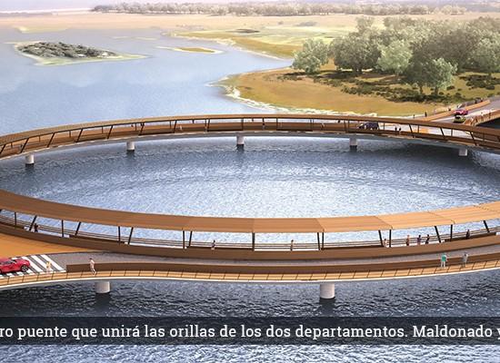 El puente de Laguna Garzón