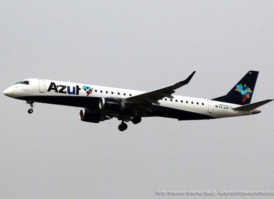 Azul Líneas Aéreas aterriza en Punta del Este