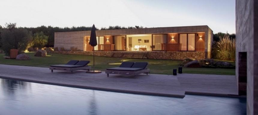 Lujosa casa rodeada de campo y a minutos del mar (Foto: terramar.com.uy)