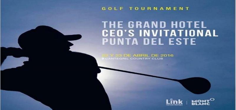 Empresarios podrán disfrutar un torneo de golf, invitados por The Grand Hotel.