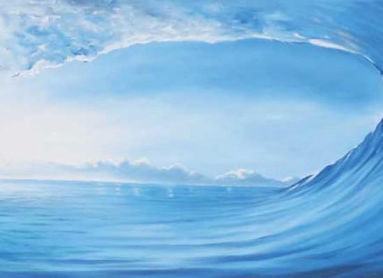 Caubarrere el arte de las olas