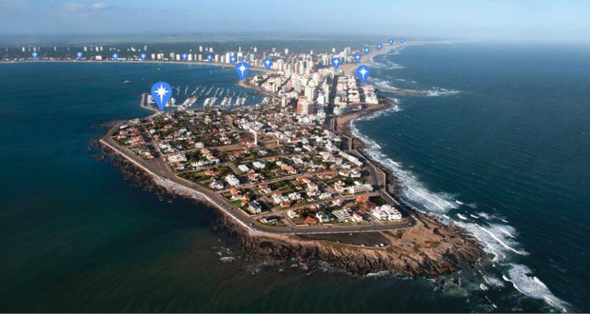 Por ahora, meteo.uy funciona para playas de Punta del Este, pero la intención es expandir su radar a otros puntos costeros...
