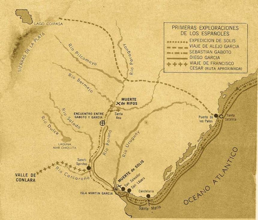 Tras tocar costa americana a la altura del Cabo de San Roque, Brasil, Diaz de Solís navegó hacia el sur explorando las tierras desconocidas de Punta del Este.