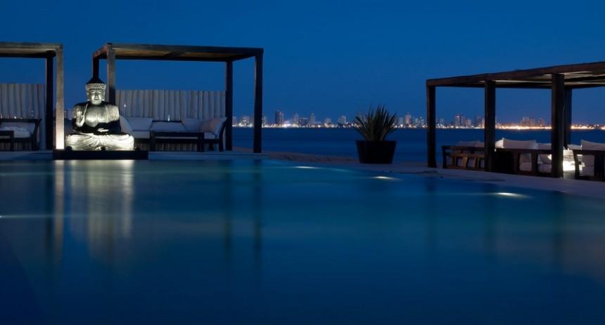 Serena Hotel, sobre la arena y frente al mar...