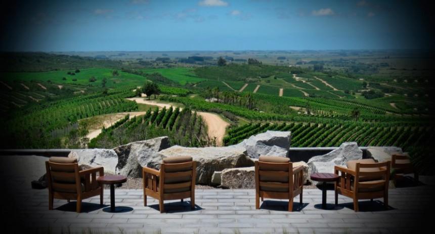 Una vista del privilegiado paisaje que se despliega en Garzón...