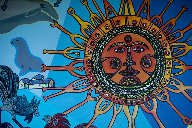 Arte Mural, Hotel Conrad.