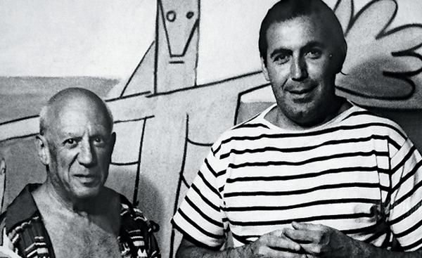 Pablo Picasso y Carlos Páez Vilaró.