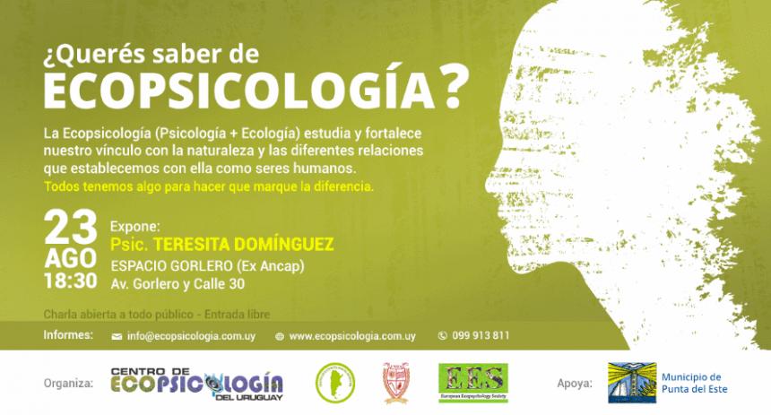 charla ecopsicologia