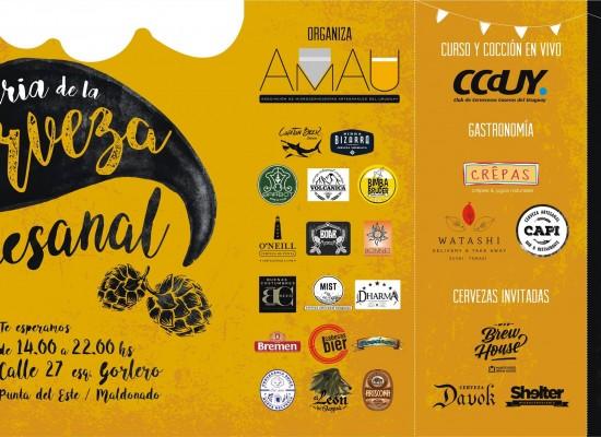 Llega la 1° Feria de la Cerveza Artesanal a Punta del Este