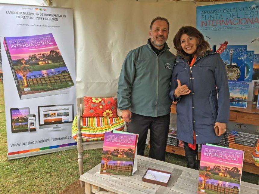 Daniel Miglino, Director de Ferretería La Ballena, junto Marisol Nicoletti, directora de Punta del Este Internacional.