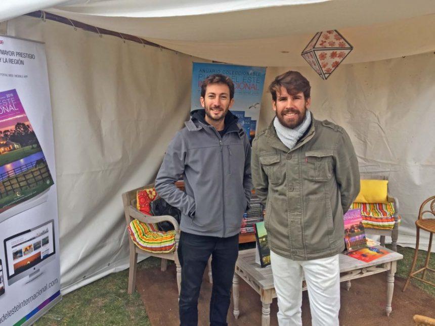 Agustín Nicoletti, editor de la revista Home Mallorca y Nicolás  Tarallo, director de Punta del Este Internacional y editor de la revista Home Mallorca.