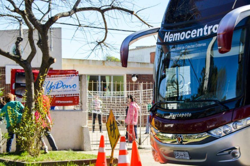 El Hemobus es la primera unidad móvil de colectas externas de sangre del Uruguay, al servicio de ASSE y sus usuarios...