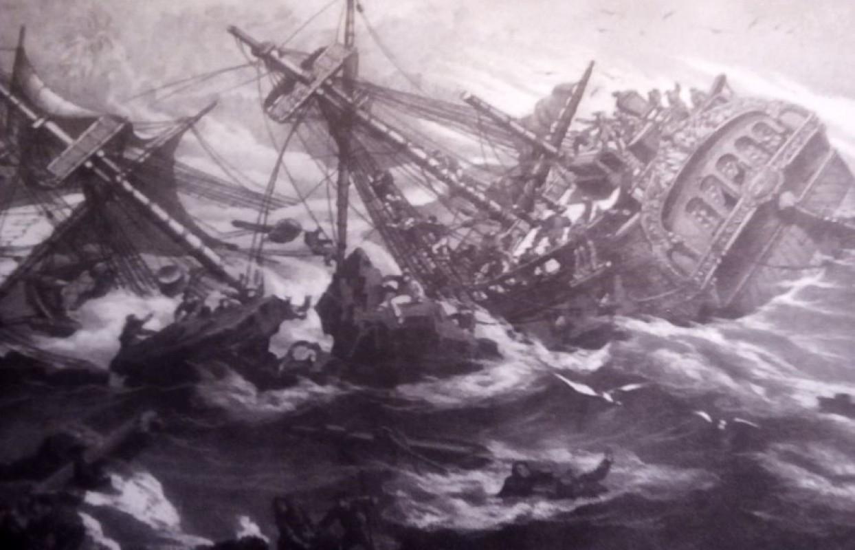 Muestra Naufragio del navío Salvador, Patrimonio sumergido