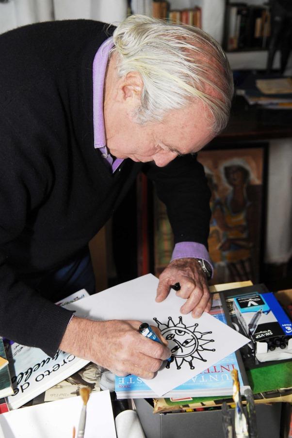A pesar de su impronta mediterránea, el artista se inspiró en el trabajo de los pájaros horneros para diseñar su proyecto.