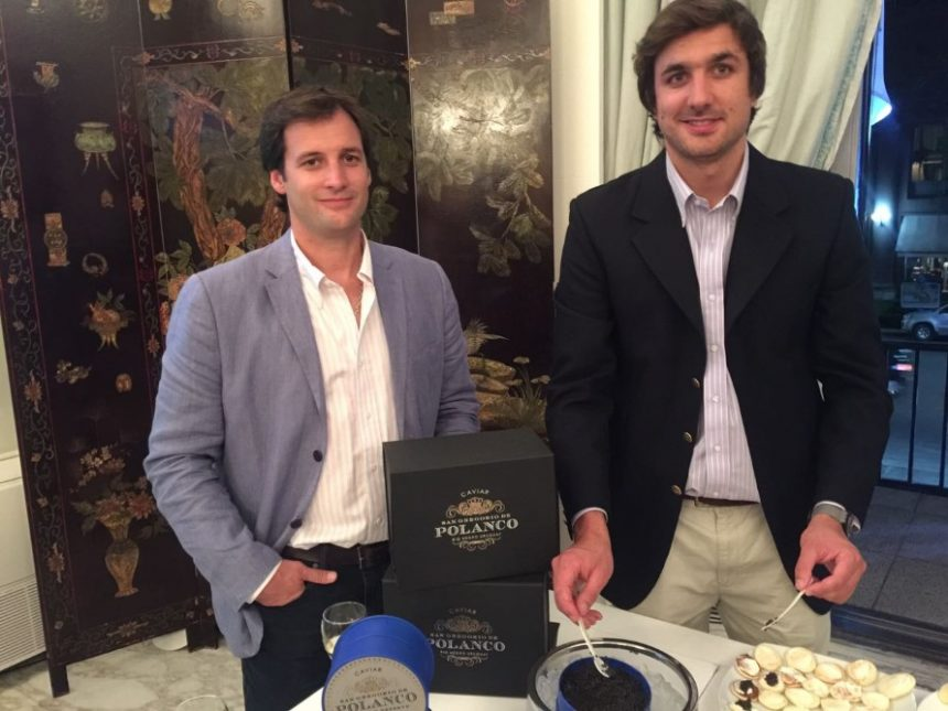 Facundo Márquez, Managing Director de Caviar Polanco...