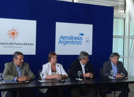 Auspiciando una gran temporada, el Aeropuerto de Punta del Este suma destinos y frecuencias