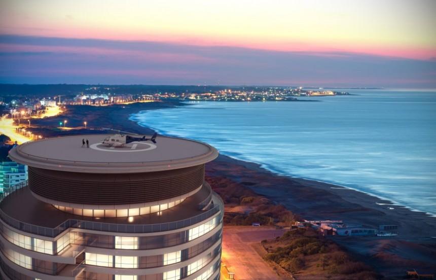 Trump Tower Punta del Este tendrá 26 pisos, 154 apartamentos y dos penthouses...