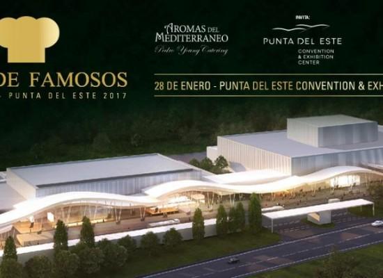 """Llega la 32° edición de la """"Cena de Famosos"""" en Punta del Este Convention & Exhibition Center"""