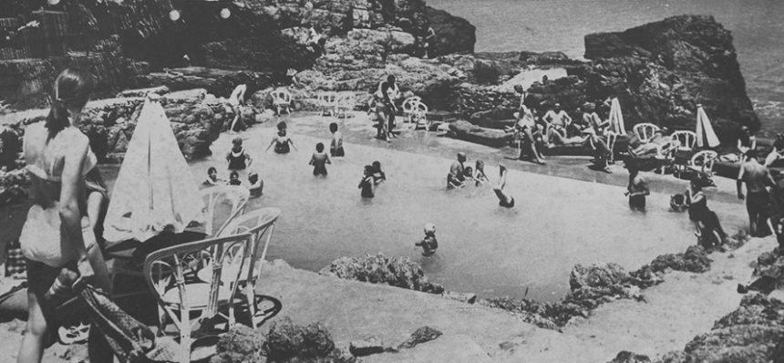 """Los años """"locos"""" de Las Grutas y la piscina creada por Flores Flores."""