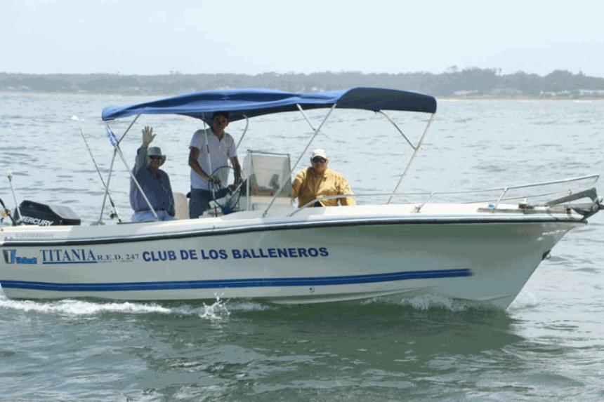 """Por quinto año consecutivo se realizó el Concurso de Pesca de Embarque, que a partir de ahora pasa a llamarse """"Eduardo Decker""""..."""