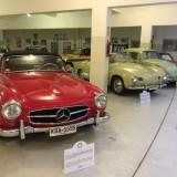 Autos clásicos todo el año en el Museo del Automóvil de Punta del Este
