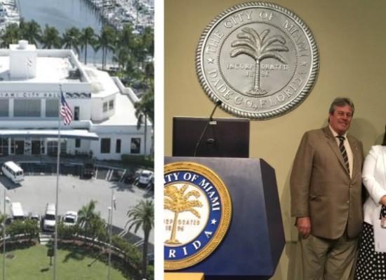 Hermanamiento de Punta del Este y Miami en imágenes