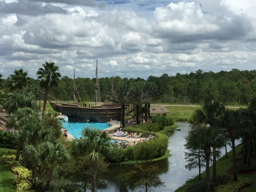 Un fantástico parque acuático a pasos del Lake Buena Vista Resort Villages & SPA...