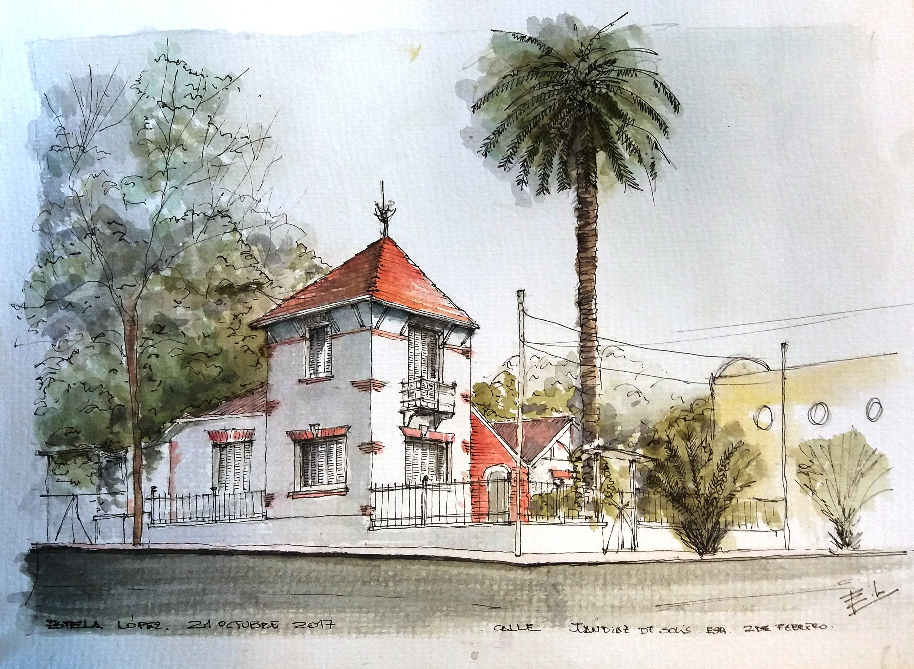 Estela Lopez Casona Esq calle 10 y 11