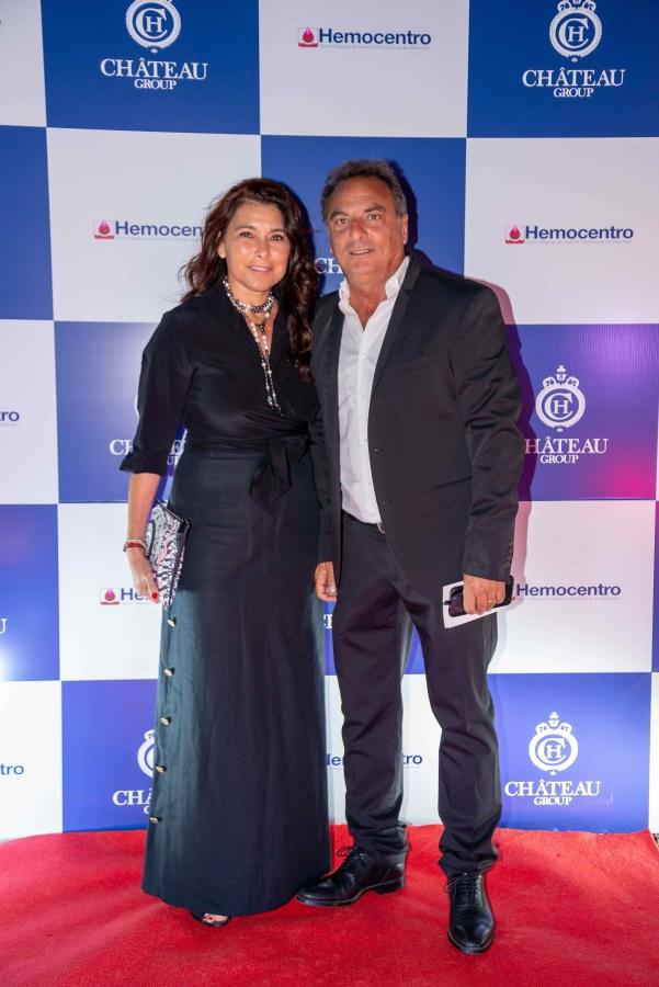 Alcalde de Punta del Este Andrés Jaffif y Sra