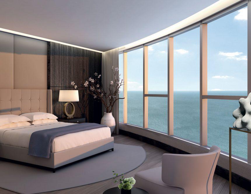 Dormitorio de Trump Tower